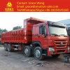 Sinotruk HOWO 371 HP 8*4 Sand Transporting Used Dump Truck