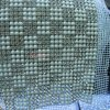 24 Rows Sewing Crystal Rhinestones Pearl Mesh