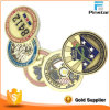 China Cheap Price Round Soft Enamel Souvenir Token Coin