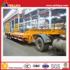 3 Axles Machinery Lowbed Truck Trailers Semi-Trailer for 80tons Equipment