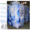 Single Door Bagged Ice Freezer for Indoor and Outdoor Use