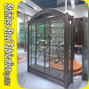 Custom Made Stainless Steel Wine Cabinet for Bar Restaurant Wine Rack