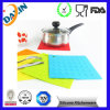 Square Durable Soft Silicone Heat Resistant Placemat
