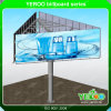 Advertising Outdoor Q235 Steel Column Billboard