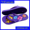 Bottom with Engraved Flower Printing Slippers