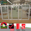 Australian Pop Design UPVC Sliding Windows with Heat Insulating Glass