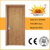 Best Price MDF Interior PVC Door for Sale (SC-P004)