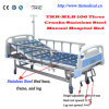 Three Cranks Manual Luxurious Hospital Bed