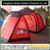 Luxury Windproof Red Custom Make Tunnel Camping Family Tent
