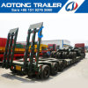 100-120tons 6 Axles Heavy Duty Low Bed Dolly Semi Trailer