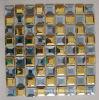 Beveled Diamond Mirror Glass Mosaic Tiles