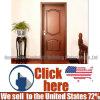 High Quality Composite Wood Timber Swing Door for Bedroom