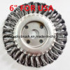 6 Inch Knot Steel Wire Wheel Brush for USA (YY-300)