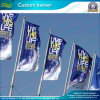 Screen Printed Custom Outdoor Decoration Flags 120grams Superknit Polyester (_NF02F06023)