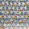 African Printing Chemical Milk Yarn Lace Fabric (M0521)