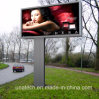 Pole Advertising LED Mega Outdoor Metail Light Box