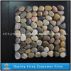 Mixed Colorful Natural Pebble Stone /Pebble Mesh Tiles