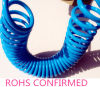 Pneumatic PU Coiled Hose/PU Spiral Tube/Polyurethane Coil Tubing