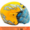 Plastic Half Face Helmet for Motorcycle (RJ-MT663)