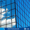 Tinted Float Glass/Building Glass/Dark Blue Reflective Glass