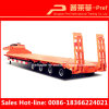 Four Axles 100 Tons Lowboy Semi Trailer for Sale