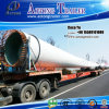 Tri Axles 45meters Flatbed Wind Blade Trailer for Guatemala