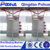 CE Quality Double Hook Shot Blasting Machine in Stock