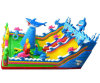 Ocean Theme Inflatable Funcity Chob400