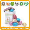 Customized Square Metal Gift Tin Box for Packing Easter Eggs