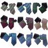 Fashion Men Polyester Woven Necktie in Cufflink Box (N100700745)