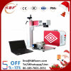 Portable Fiber Laser Marking Etching Machine on Metal
