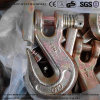 """1/2"""" Forged Alloy Steel G70 Clevis Grab Hook Safety Type"""