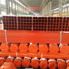 ASTM A500 Standard Painted Red Square Iron Pipe