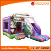 Factory Manufacture Inflatable Panda Jumping Castle with Slide (T3-036)