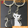 Metal Cat Keychain Customed Logo Jewelry Gift (YB-HD-187)