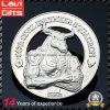 3D Silver Souvenir Coin for Promotion Gift