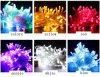 LED Decorative Tree Christmas Holiday Light 100bulbs LED Strip