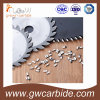 Tungsten Carbide Saw Tips for Wood Aluminium Cutting