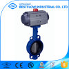2017 Hot Sale Cast Iron Pneumatic Butterfly Valve