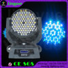 RGBW 3W Wash LED Moving Head 108 LEDs