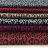 Leopard Print Jacquard Wool Fabric Stock