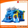 China Inflatable Toy/Jumping Dolphin Combo with Slide (T3-430)