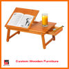 Multifunction Wood Alden Lap Desk with Drawer