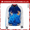 Customised Blue and White Bomber Jacket Embroidery (ELTBJI-41)