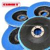 """Zir. 4.5"""" Abrasive Flap Disc"""