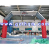 Inflatable Rainbow Archway for Advertising/Inflatable Arch for Event Party Decoration
