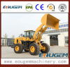 Front Loader Type Industrial Wheel Loader with Rock Bucket (GEM660 6ton)