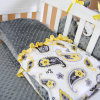 2015 New Baby Crib Quilt Made of Minky Fabric