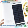8000mAh 3USB Solar Power Bank with LED Light