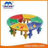 Plastic Round Colors Table for Txd16-Xs3102 for Kindergarten